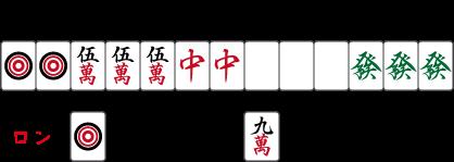 トイトイ+三暗刻+小三元